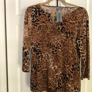 Chico's Size 1 NWT Top